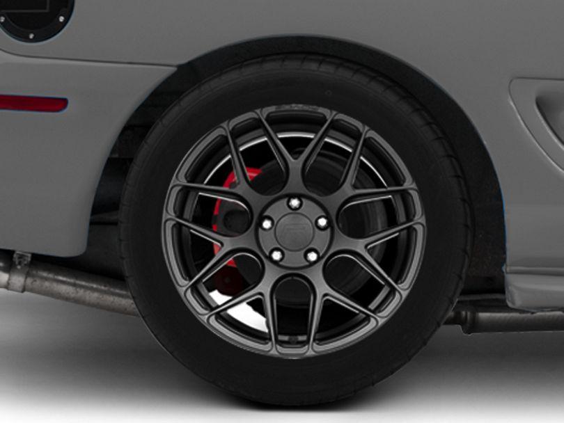 Rovos Pretoria Gunmetal Wheel; Rear Only; 18x10.5 (94-98 All)