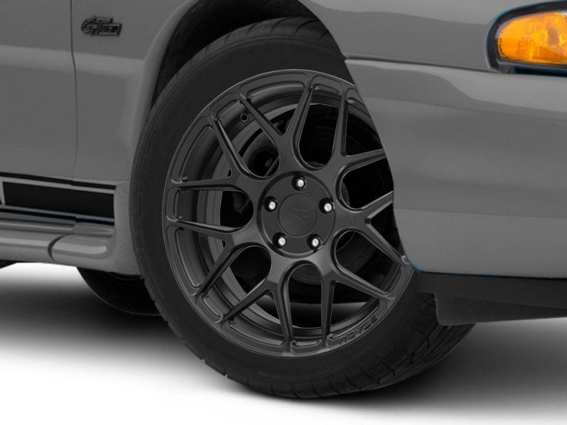 Rovos Pretoria Satin Black Wheel; 18x9 (94-98 All)