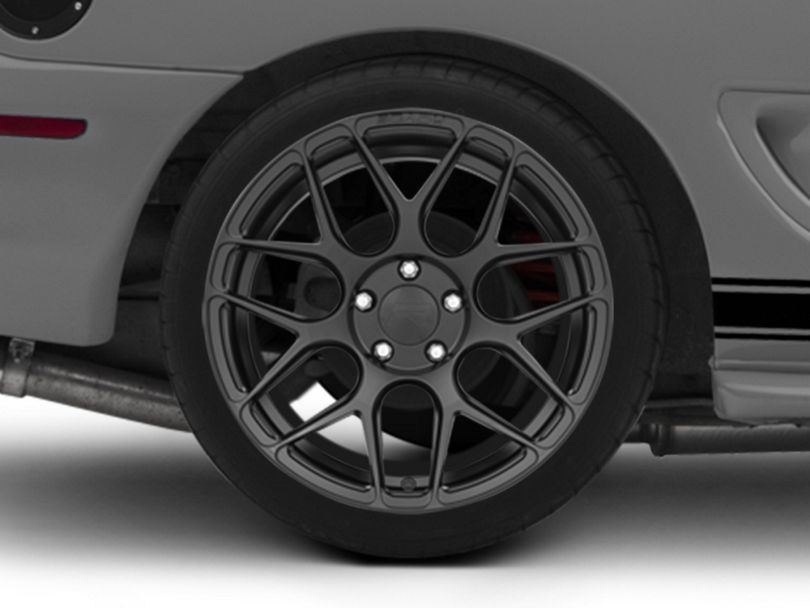 Rovos Pretoria Satin Black Wheel - 18x10.5 - Rear Only (94-98 All)