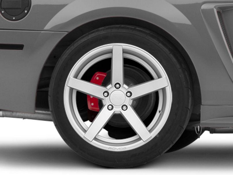 Rovos Durban Silver Wheel; Rear Only; 18x10.5 (99-04 All)