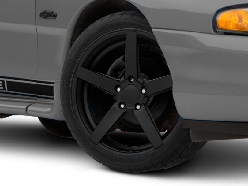 Rovos Durban Satin Black Wheel - 18x9 (94-98 All)