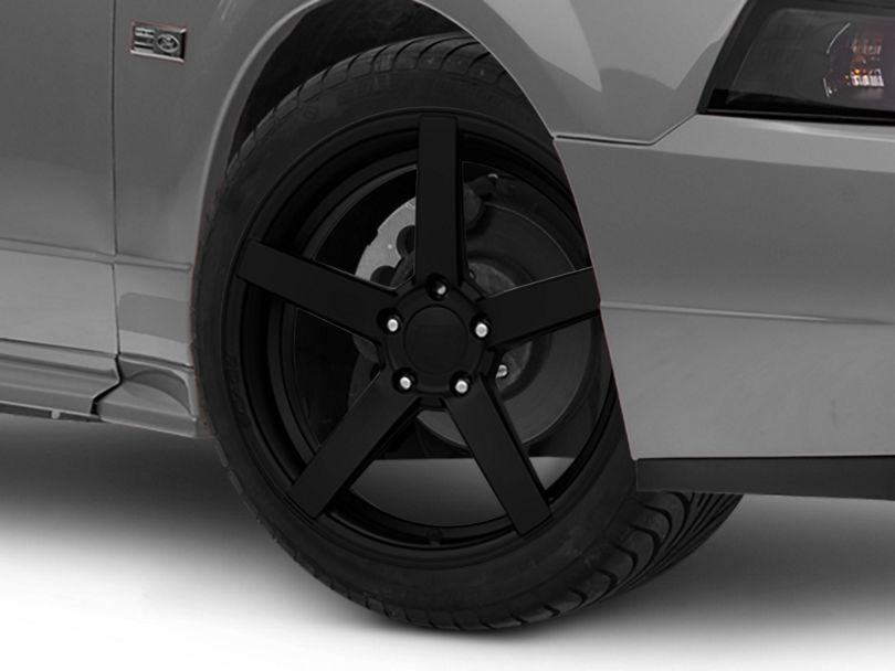 Rovos Durban Satin Black Wheel; 18x9 (99-04 All)
