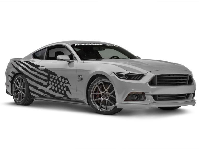 American Muscle Graphics Battle Born Side Graphics Package (05-20 Coupe/Fastback)