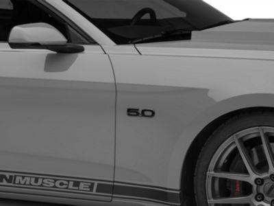 Ford Black Fender Emblem - Passenger Side (15-19 GT)