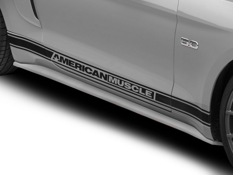 Fiberglass Rocker Panels - Unpainted (15-20 GT, EcoBoost, V6)
