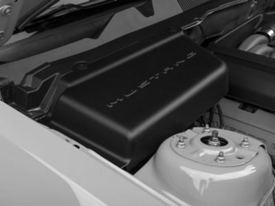 Add MMD Battery Cover w/ Mustang Lettering (05-14 All)