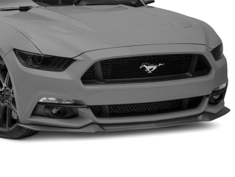 MMD Fog Light Splitters - Matte Black (15-17 GT, EcoBoost, V6)