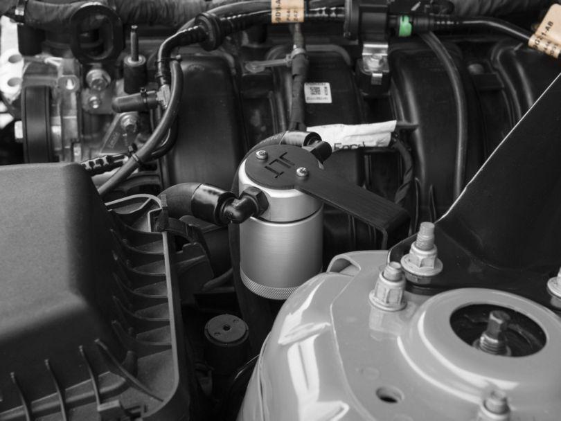 JLT V3.0 Satin Oil Separator - Driver Side (15-20 EcoBoost)