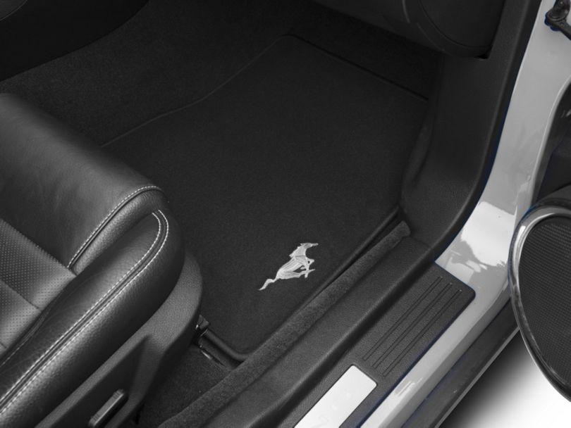 Ford Front Floor Mats w/ Running Pony Logo - Black (11-12 All)