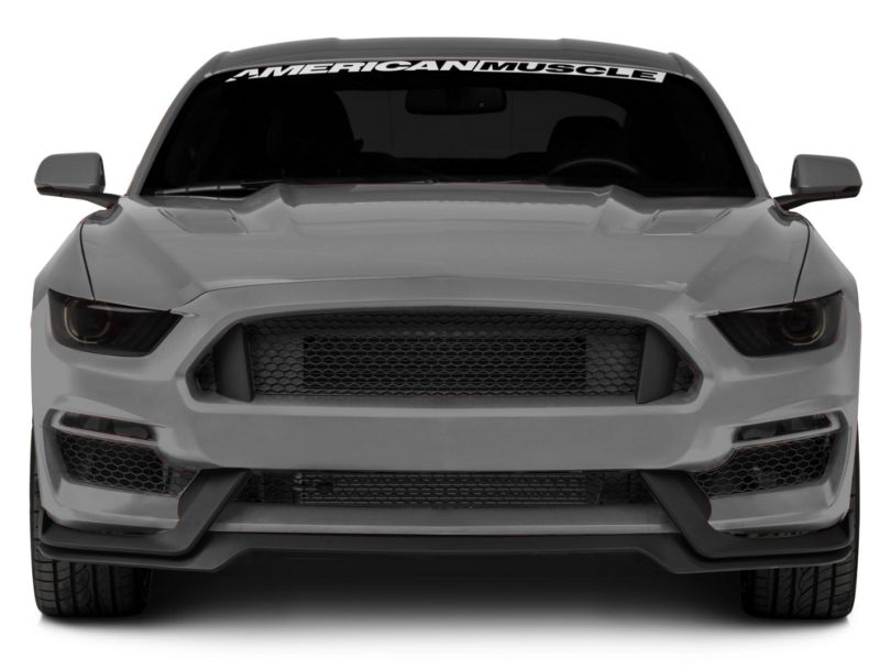 MP Concepts GT350 Style Front Bumper; Unpainted (15-17 GT, EcoBoost, V6)