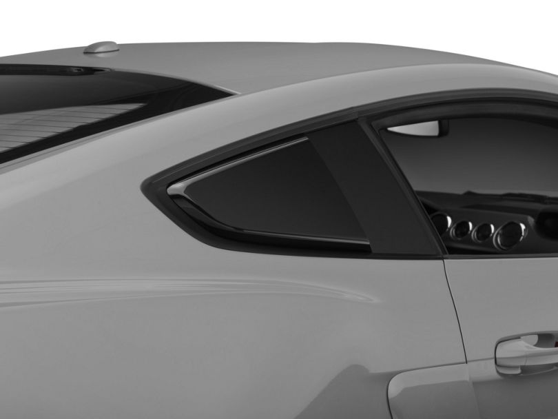 MP Concepts Quarter Window Scoops - Gloss Black (15-20 Fastback)
