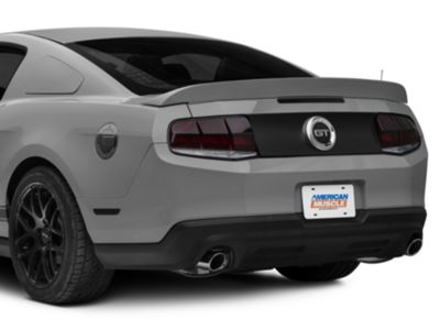 Add SpeedForm Decklid Blackout Decal - Matte Black (10-14 All)