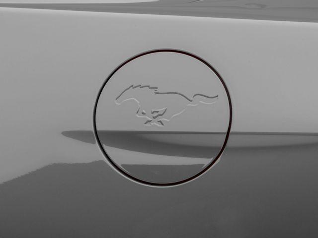MMD Fuel Door w/ Running Pony Logo - Pre-Painted (15-19 All)