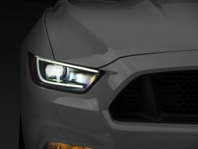 Raxiom LED Headlights (15-17 All; 18-19 GT350)