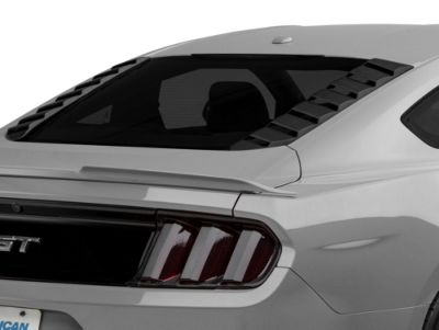 MP Concepts Sport Rear Window Louvers - Matte Black (15-19 All)