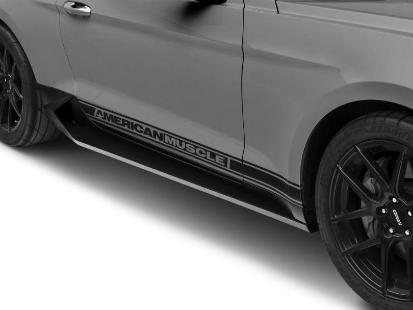 MP Concepts Sport Rocker Panels; Unpainted (15-20 GT, EcoBoost, V6)