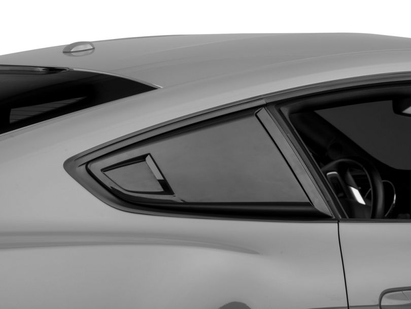 MP Concepts Quarter Window Scoops - Unpainted (15-20 Fastback)