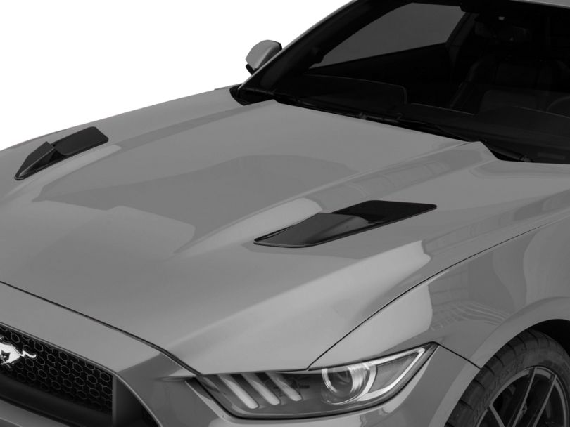 MP Concepts Hood Vent Louvers - Gloss Black (15-17 EcoBoost, V6)