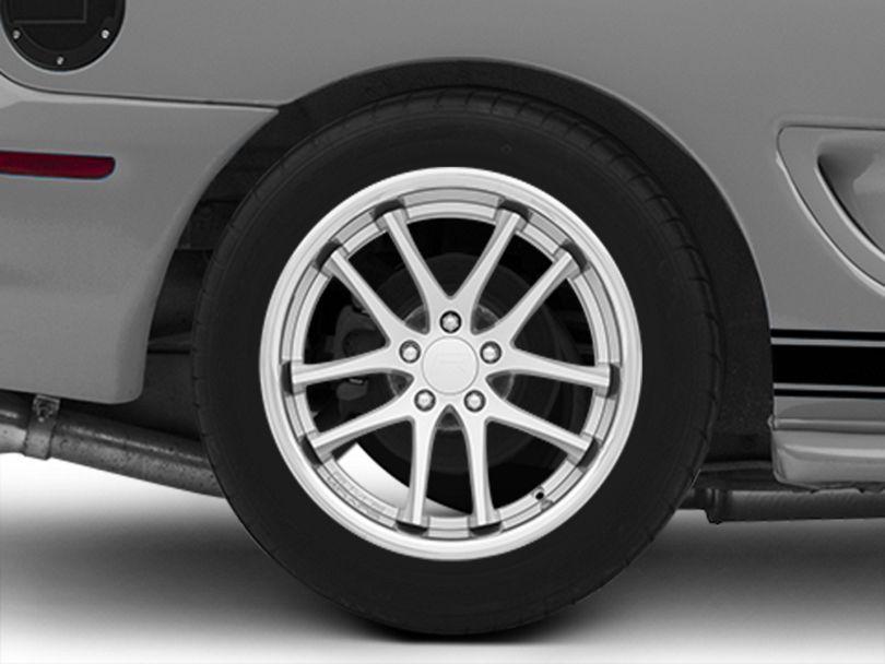 Rovos Cape Town Satin Silver Wheel; Rear Only; 18x10.5 (94-98 All)