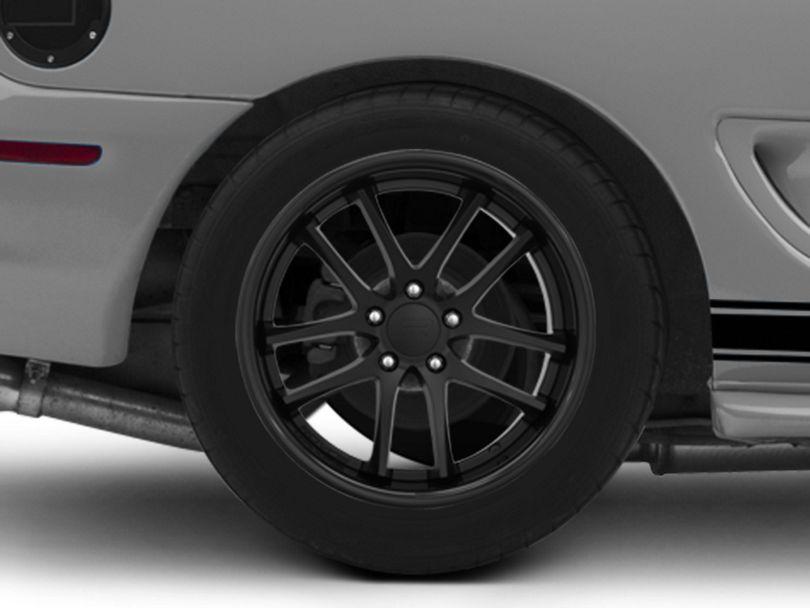 Rovos Cape Town Satin Black Wheel; Rear Only; 18x10.5 (94-98 All)