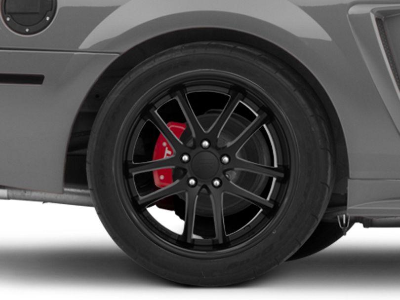 Rovos Cape Town Satin Black Wheel; Rear Only; 18x10.5 (99-04 All)