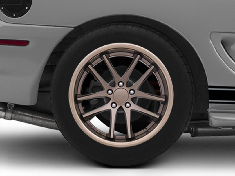 Rovos Cape Town Satin Bronze Wheel; Rear Only; 18x10.5 (94-98 All)