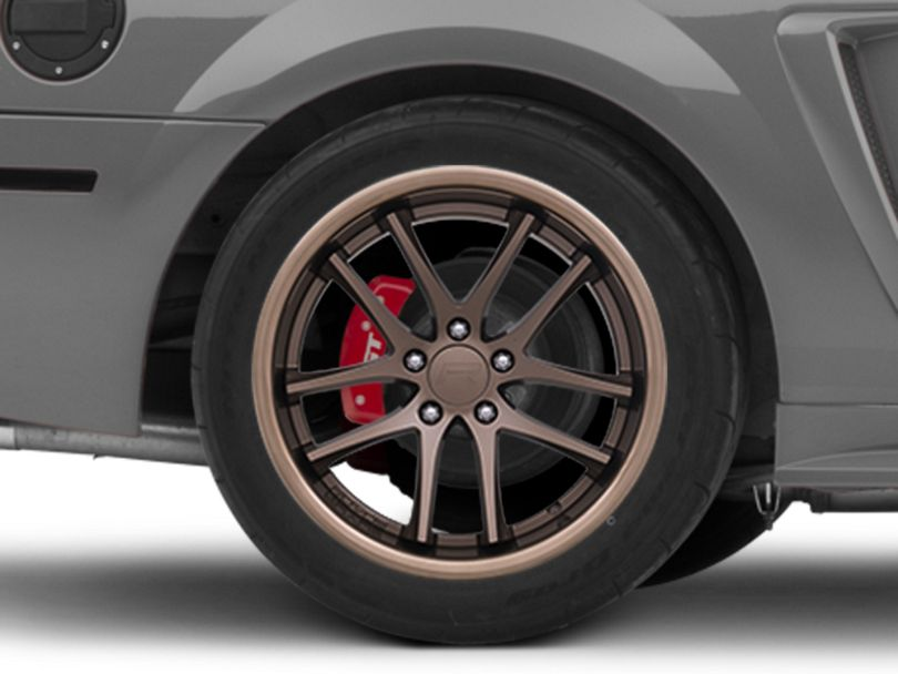 Rovos Cape Town Satin Bronze Wheel; Rear Only; 18x10.5 (99-04 All)