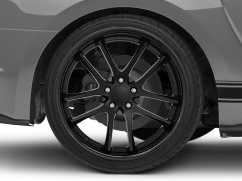 Rovos Cape Town Satin Black Wheel - 20x10 - Rear Only (15-20 GT, EcoBoost, V6)