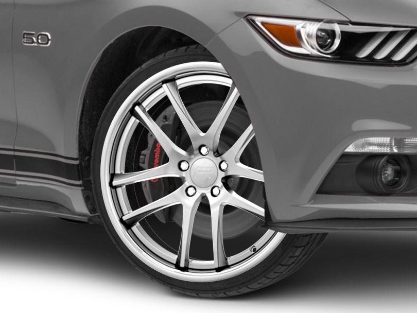 Rovos Cape Town Satin Silver Wheel - 20x8.5 (15-20 GT, EcoBoost, V6)