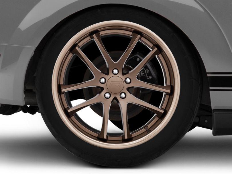 Rovos Cape Town Satin Bronze Wheel - 20x10 - Rear Only (05-09 All)