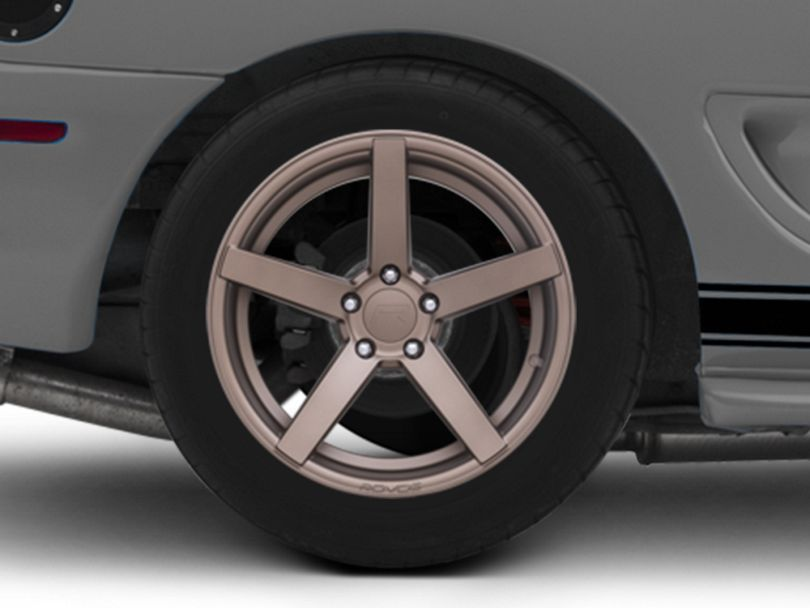 Rovos Durban Satin Bronze Wheel; Rear Only; 18x10.5 (94-98 All)