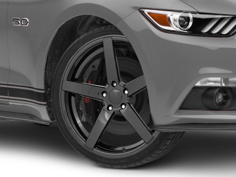 Rovos Durban Gloss Black Wheel - 20x8.5 (15-20 GT, EcoBoost, V6)