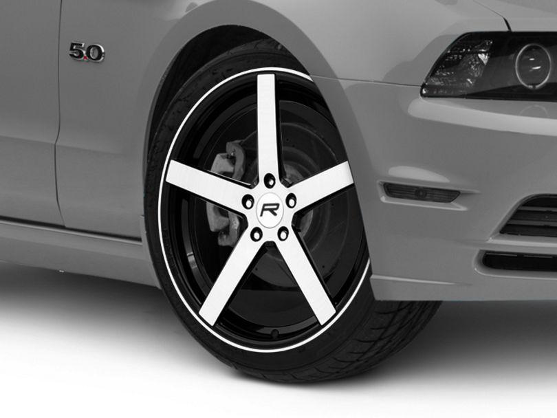 Rovos Durban Gloss Black Machined Wheel; 20x8.5 (05-09 All)