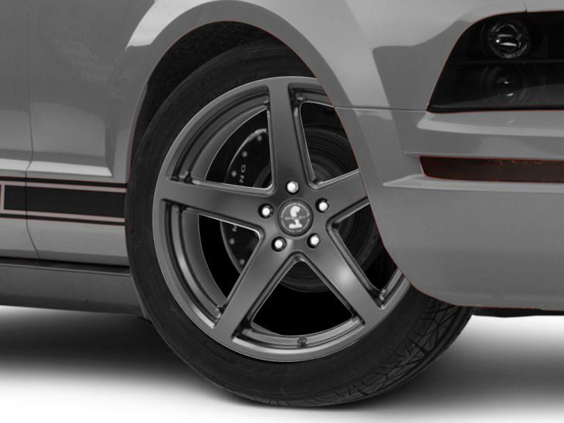 Shelby Style SB201 Satin Black Wheel; 19x9.5 (05-09 All)
