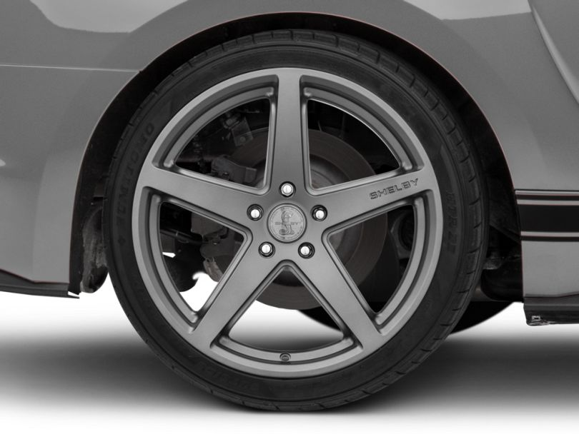Shelby Style SB201 Charcoal Wheel - 19x10.5 - Rear Only (15-20 GT, EcoBoost, V6)