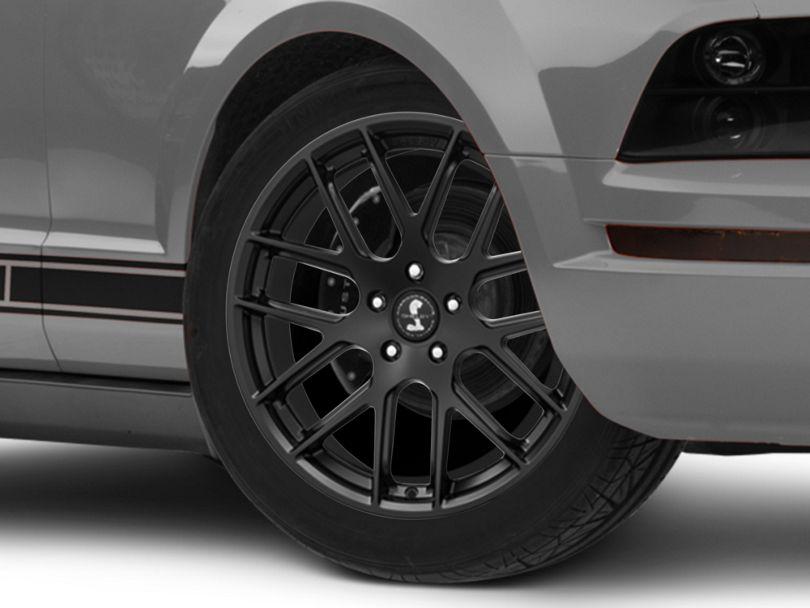 Shelby Style SB202 Satin Black Wheel - 19x9.5 (05-09 All)