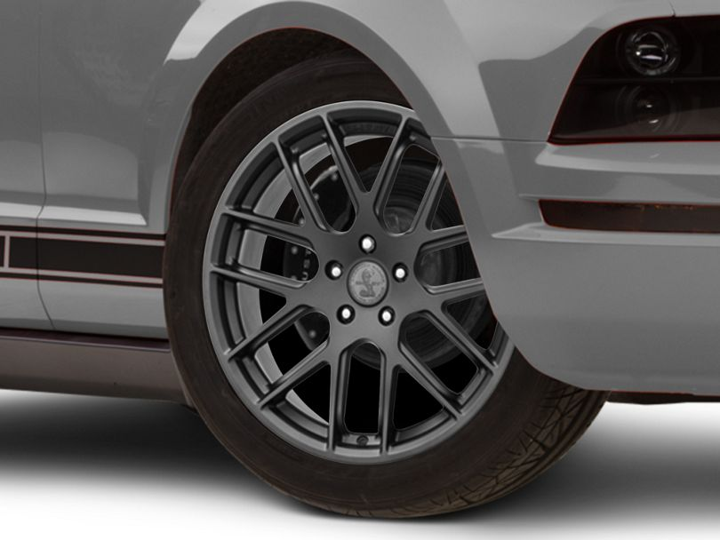 Shelby Style SB202 Charcoal Wheel; 19x9.5 (05-09 All)