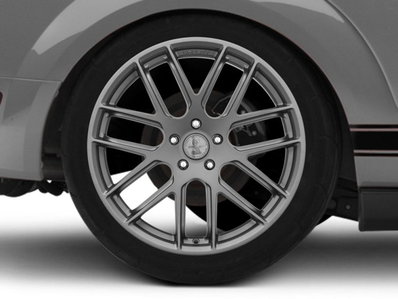 Shelby Style SB202 Charcoal Wheel - 20x10.5 - Rear Only (05-09 All)