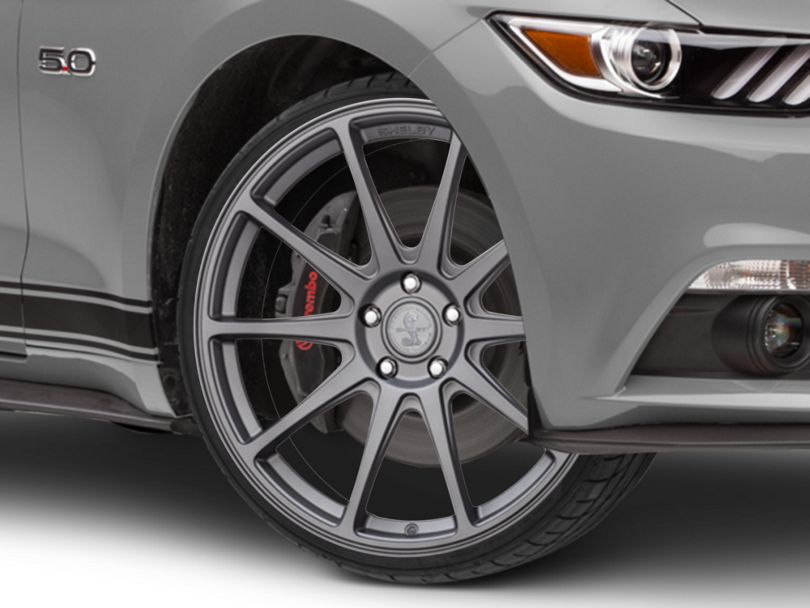 Shelby Style SB203 Charcoal Wheel - 20x9.5 (15-20 GT, EcoBoost, V6)