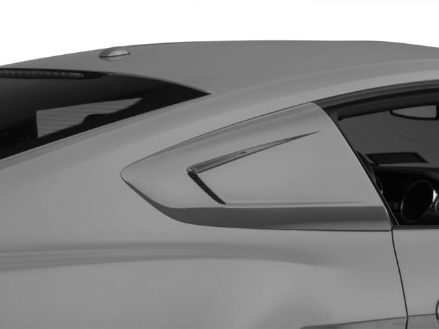 MMD Quarter Window Scoops - Pre-Painted (15-19 Fastback)