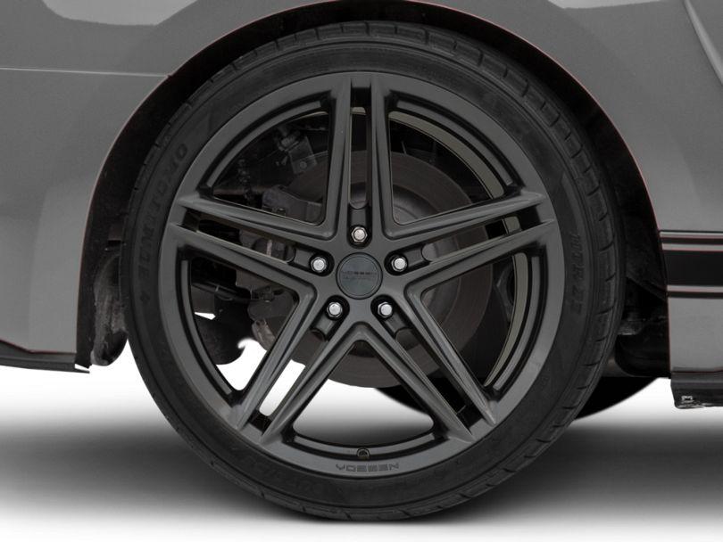 Vossen VFS-5 Gloss Graphite Wheel; Rear Only; 20x10.5 (15-20 GT, EcoBoost, V6)