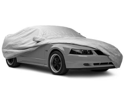 FS16012F5 Fleeced Satin Black Covercraft Custom Fit Car Cover for Select Pontiac Grand Am Models