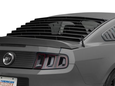 EGX Rear Window Louvers - Textured Black (05-14 Coupe)