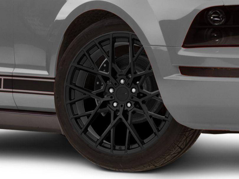 TSW Sebring Matte Black Wheel; 20x8.5 (05-09 GT, V6)
