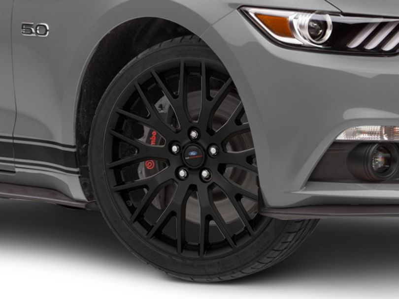 Ford Performance Performance Pack Style Matte Black Wheel - 19x9 (15-20 GT, EcoBoost, V6)