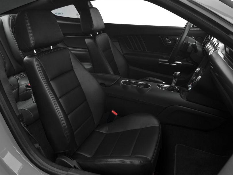 Corbeau Sport Seats Reclining Seats - Black Vinyl - Pair (79-20 All)