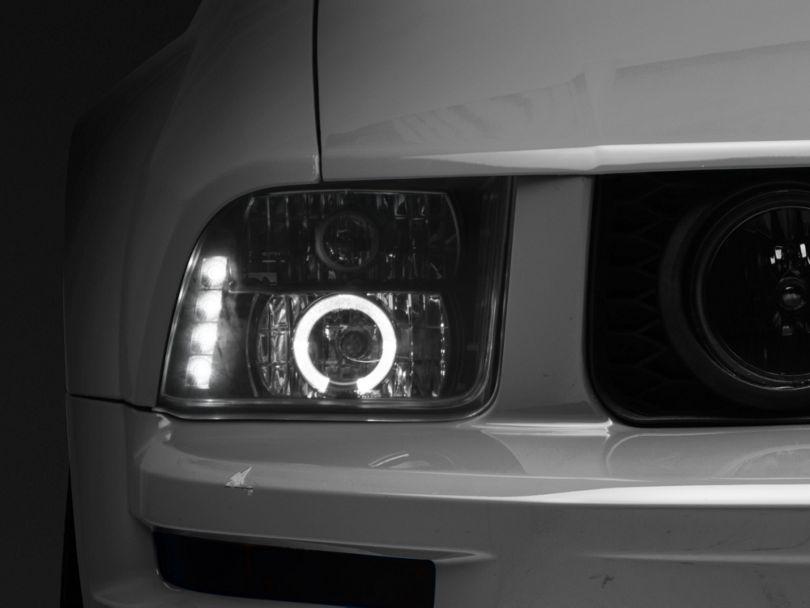 Axial Black Projector Headlights (05-09 GT, V6)