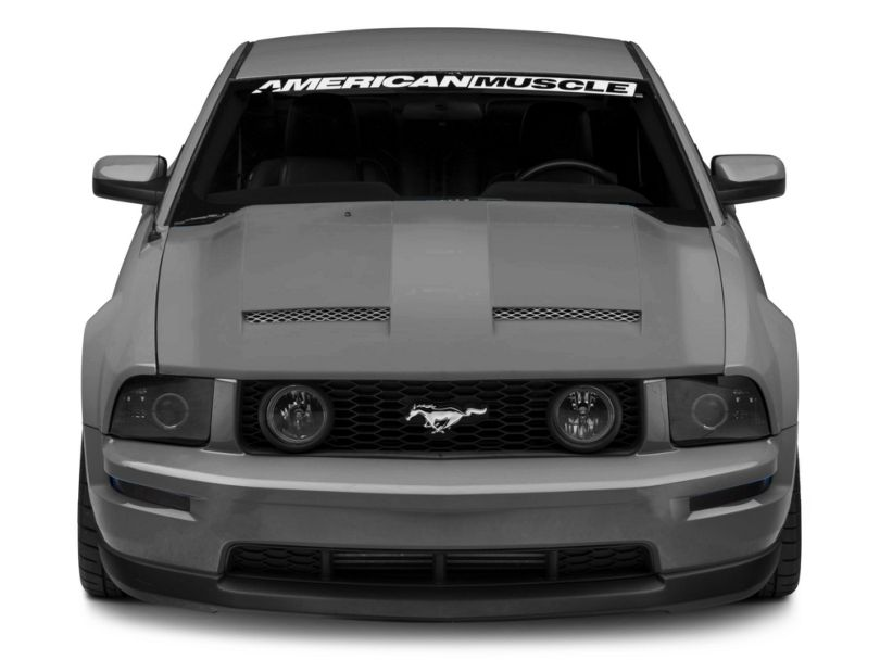 California Dream Ram Air Hood - Unpainted (05-09 GT, V6)