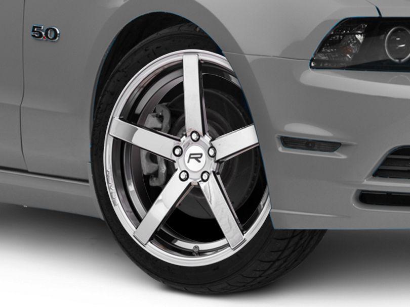 Rovos Durban Black Chrome Wheel; 20x8.5 (10-14 All)