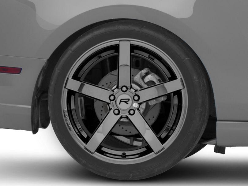 Rovos Durban Black Chrome Wheel - 20x10 - Rear Only (10-14 All)